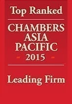 Chambers Asia Pacific 2015 Leading Firm