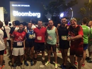 Bloomberg Square Mile Race - Tanner De Witt team