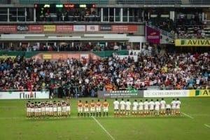 Japan v Hong Kong in the final