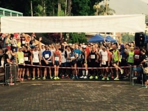 Discovery Bay 10km Race Start Line