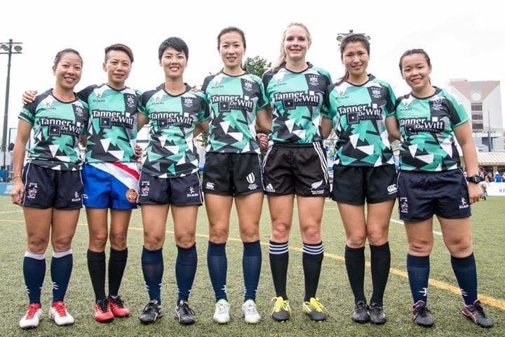 HK Women's Rugby Sevens Referees 2016