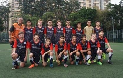 ESF Lions U14 HKFA Div 3 Winners