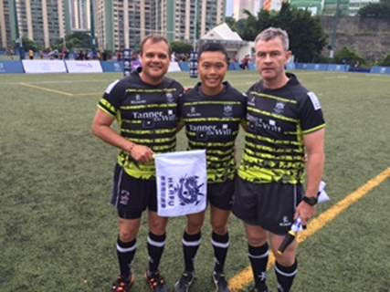 Sponsoring Hong Kong Rugby Union's domestic league referees