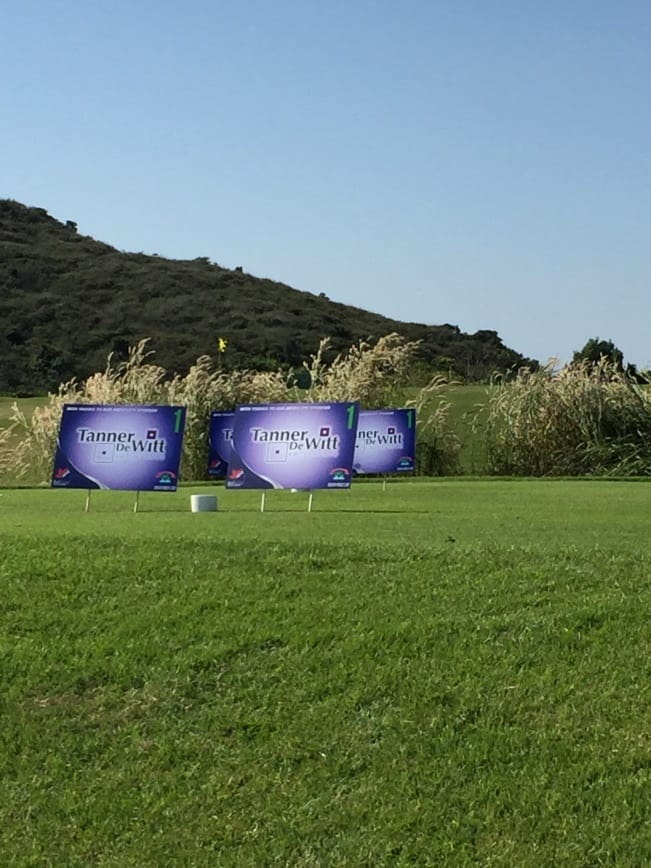 WAGS Charity Golf Day 2015 in Kau Sai Chau in Sai Kung