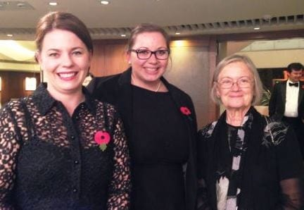 Tanner De Witt's Joanne Brown and Elizabeth Seymour-Jones with Baroness Hale